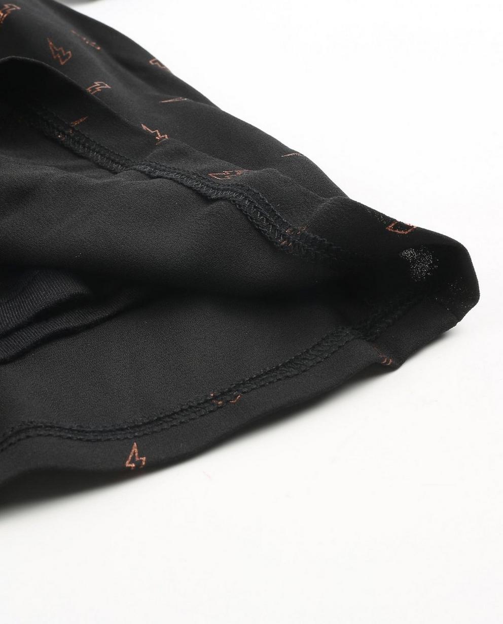 Kleider - Schwarz - Zwarte jurk met pailletten